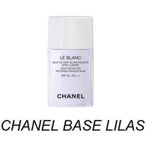 เบสม่วงชาแนล CHANEL LE BLANC LIGHT REVEALING BASE # LILAS