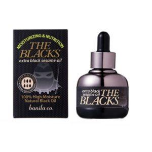 ออยล์บำรุงผิวหน้า BANILA CO MORE BLACKS EXTRA BLACK SESAME FIVE DAYS