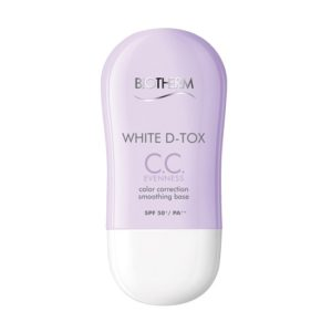เบสปรับสีผิว BIOTHERM WHITE D-TOX CC EVENNESS COLOR CORRECTION
