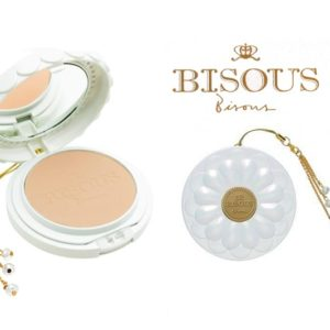 แป้งตลับ BISOUS BISOUS WHITE POSY WHITENING POWDER PACT