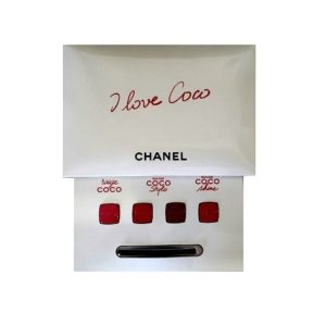 ลิปสติก CHANEL I LOVE COCO LIPSET 4 COLORS WITH BRUSH