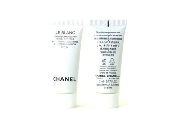 ชาแนลเซรั่มผิวขาวขนาดทดลอง CHANEL LE BLANC WHITENING CONCENTRATE TXC