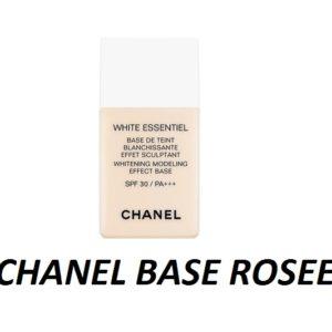 แบ่งขายเบสชาแนลโทนชมพู CHANEL WHITENING MODELING BASE ROSEE