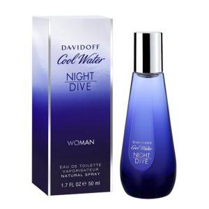 น้ำหอมกลิ่นเย้ายวนใจ DAVIDOFF COOL WATER NIGHT DIVE WOMAN