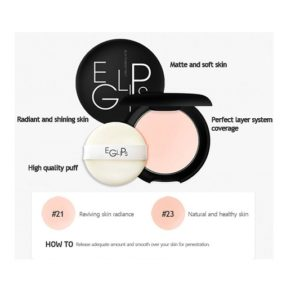 แป้งพัฟ EGLIPS BLUR POWDER PACT