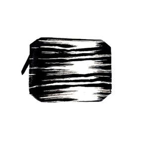กระเป๋าเครื่องสำอางพร้อมส่ง ESTEE LAUDER BLACK & WHITE COSMETICS BAG