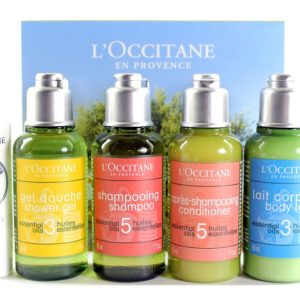 ชุดของขวัญ L'OCCITANE ESSENTIAL OILS & SHEA BUTTER LIP BALM