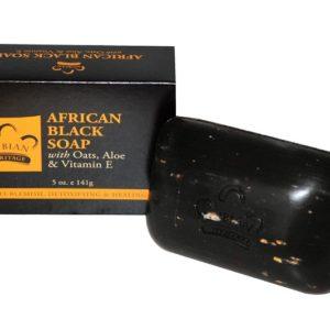 สบู่ดำอัฟริกันตัวดัง NUBIAN HERITAGE AFRICAN BLACK SOAP