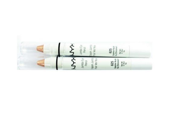 ดินสอเขียนขอบตาพร้อมส่ง NYX JUMBO EYE PENCIL # 625 SPARKLE NUDE