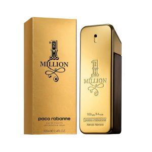 ขวดน้ำหอมทรงทองคำแท่ง PACO RABANNE 1 MILLION EAU DE TOILETTE
