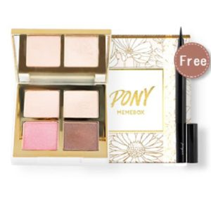 อายแชโดว์ PONY MEMEBOX SHINE EASY GLAM 3 EYESHADOW QUAD