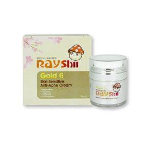 ครีมบำรุงผิวหน้า RAYSHI GOLD 6 SKIN SENSITIVE ANTI-ACNE CREAM