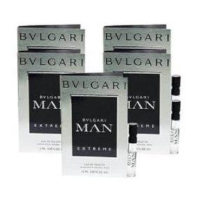 น้ำหอมขนาดทดลอง BVLGARI MAN EXTREME EDT 1.5 ML