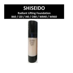 รองพื้น SHISEIDO RADIANT LIFTING FOUNDATION TEINT LIFTANT ANTI-AGE