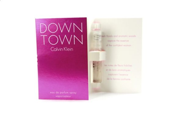 น้ำหอมพร้อมส่ง CALVIN KLEIN DOWN TOWN EAU DE PARFUM SPRAY 1.2ML