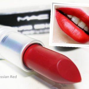 แบ่งขายลิปสติกแมค MAC LIPSTICK RUSSIAN RED 06 (MATTE)