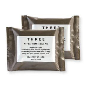 สบู่ทำความสะอาดร่างกาย THREE HERBAL BATH SOAP AC